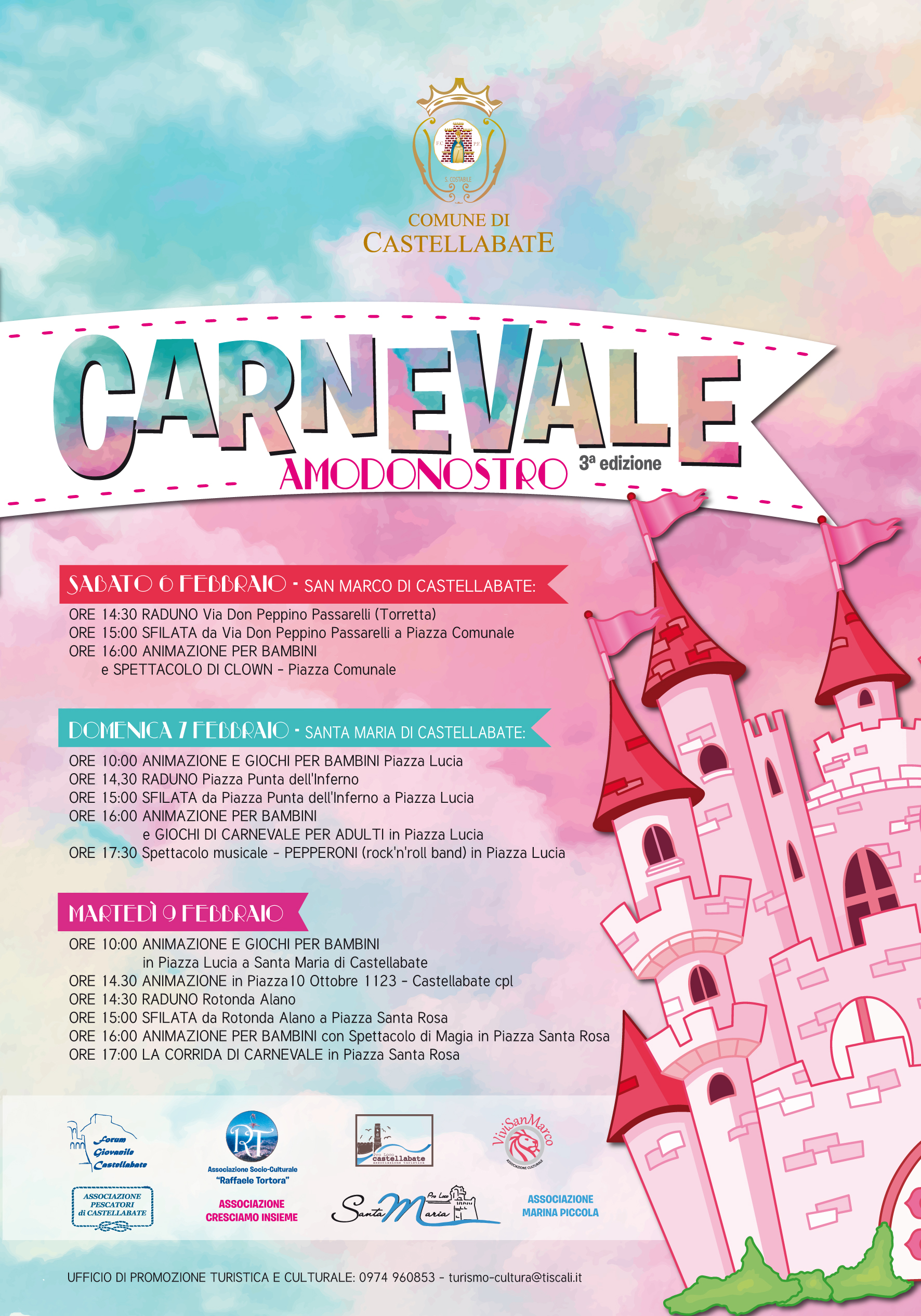 Castellabate - Carnevale 2016